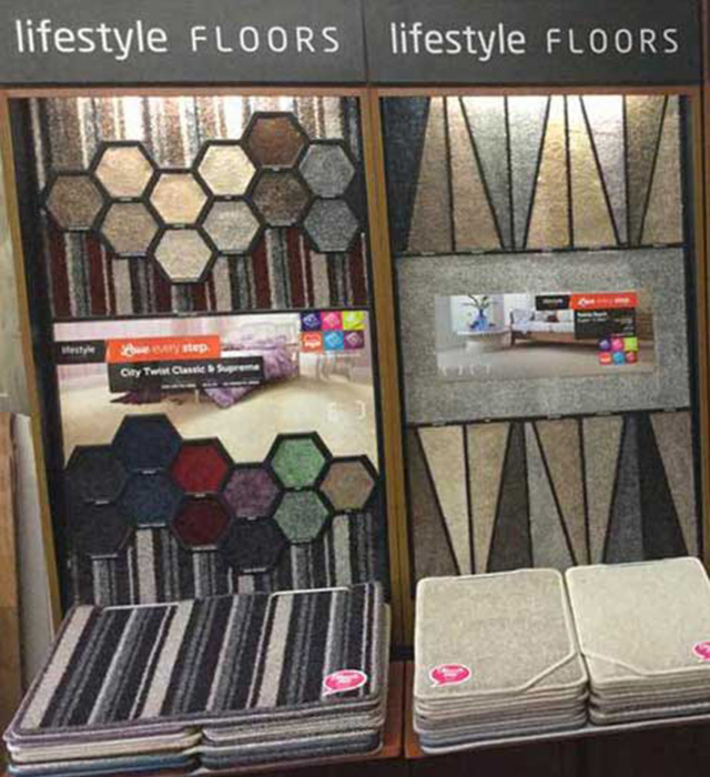 Extensive range of flooring